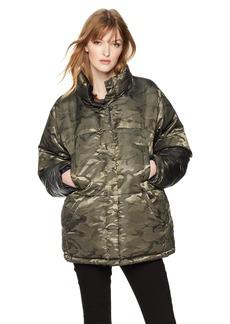 KENDALL + KYLIE Women's Reversible Puffer Jacket