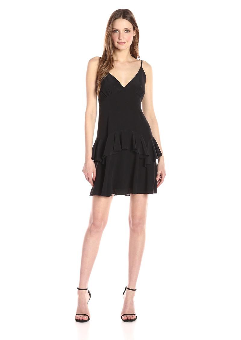 Kendall + Kylie Women's Ruffle Slip Dress  S
