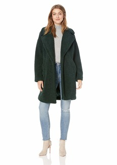 KENDALL + KYLIE Women's Single Breasted Coat
