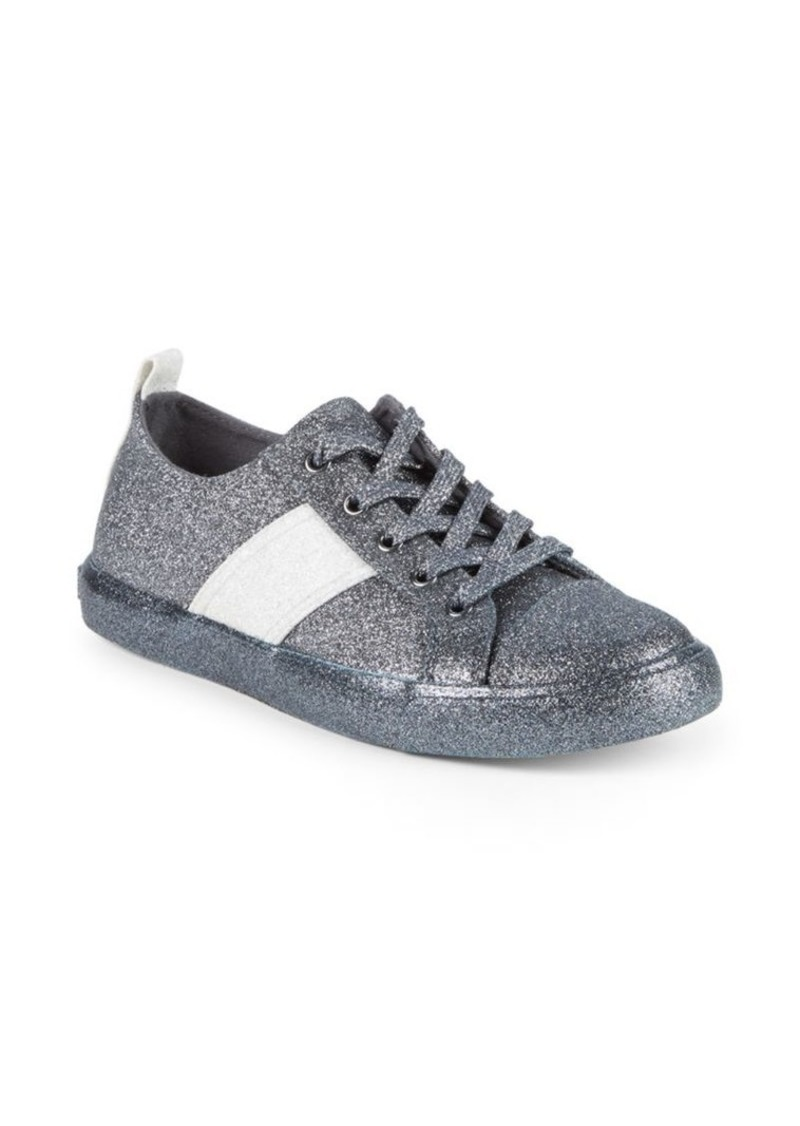 Kendall + Kylie Kobey Glittered Sneakers