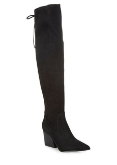 Kendall + Kylie Lace-Up Over-The-Knee Boots