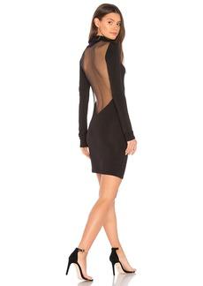 Kendall + Kylie Mesh Open Back Dress
