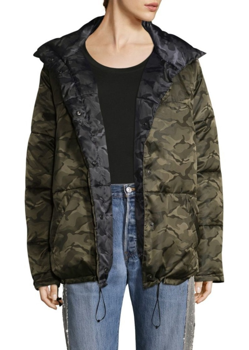 19303d2ad3c Kendall + Kylie Reversible Camo Puffer Jacket Now  136.87