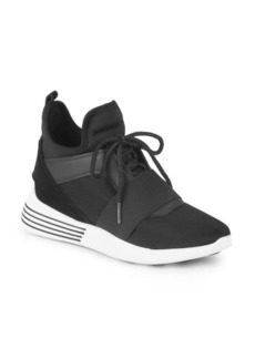 Kendall + Kylie Striped High-Top Sneakers