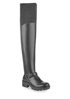 Kendall + Kylie Textured Over-the-Knee Boots