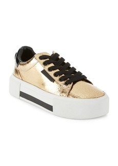 Kendall + Kylie Tyler Leather Platform Sneakers