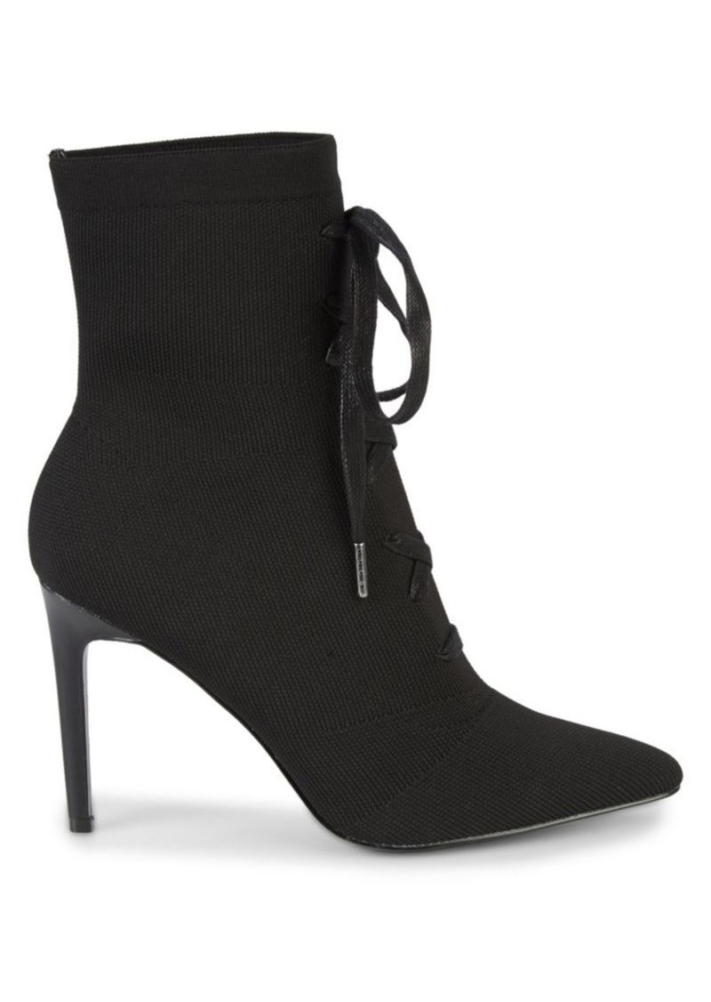 Kendall + Kylie Vice Lace-Up Booties
