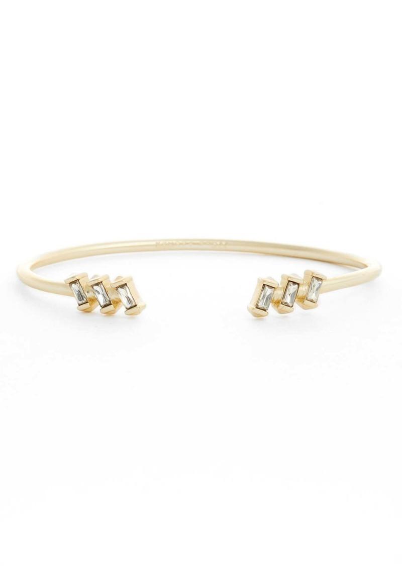 Kendra Scott Amaya Nanogem Baguette Cuff Bracelet