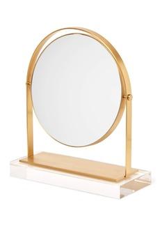 Kendra Scott Brass & Acrylic Vanity Mirror