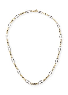 Kendra Scott Gage Crystal Oval Link Necklace  36