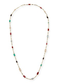 Kendra Scott Giri Long Crystal Necklace