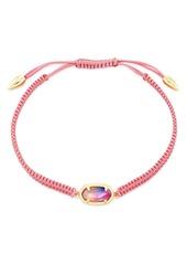 Kendra Scott 14K Gold-Plated Grayson Watercolor Illusion Adjustable Friendship Bracelet