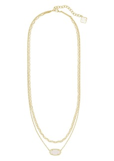 "Kendra Scott Elisa Multi-Strand Necklace, 18""-20.5"""