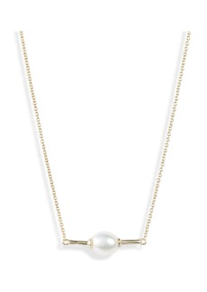 Kendra Scott Emberly Natural Pearl Necklace