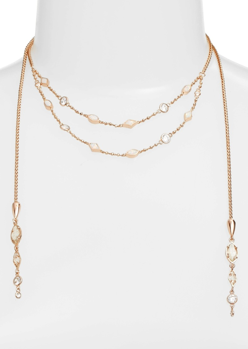 scott zoom emelina kendra sale necklace wrap
