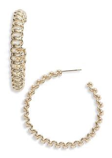 Kendra Scott Fallyn Hoop Earrings