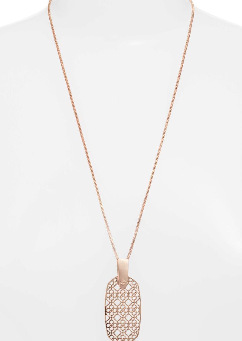 Kendra Scott Inez Filigree Pendant Necklace