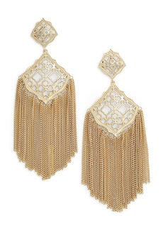 Kendra Scott Kimora Fringe Drop Earrings