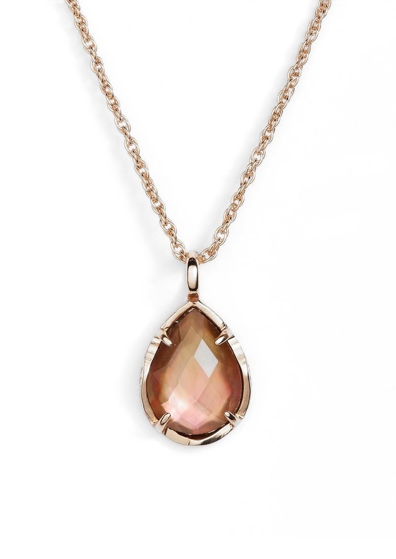 5b8b4b1c3972ae On Sale today! Kendra Scott Kendra Scott Kiri Teardrop Pendant Necklace