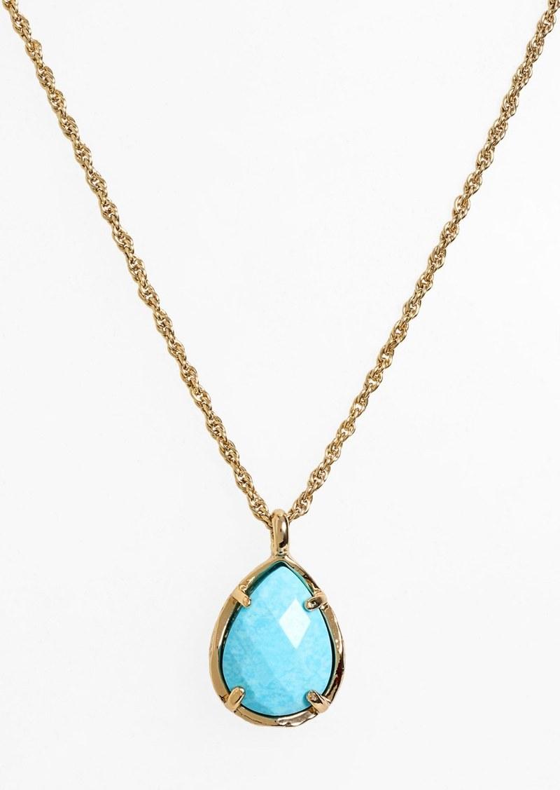37c33bc3d8ea63 Kendra Scott Kendra Scott Kiri Teardrop Pendant Necklace | Jewelry