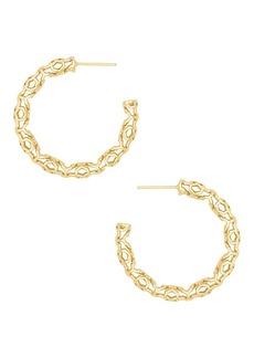 Kendra Scott Maggie 1.5 Hoop Earrings