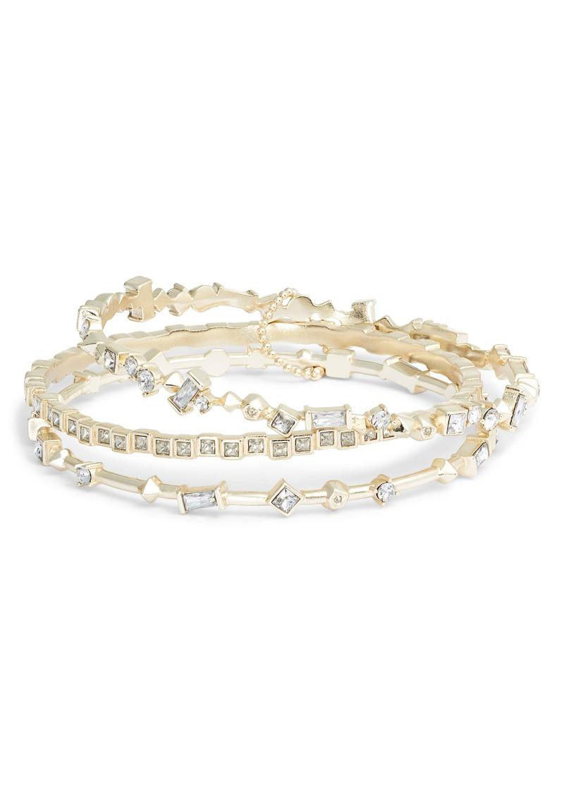 Kendra Scott Malia Set of 3 Bracelets
