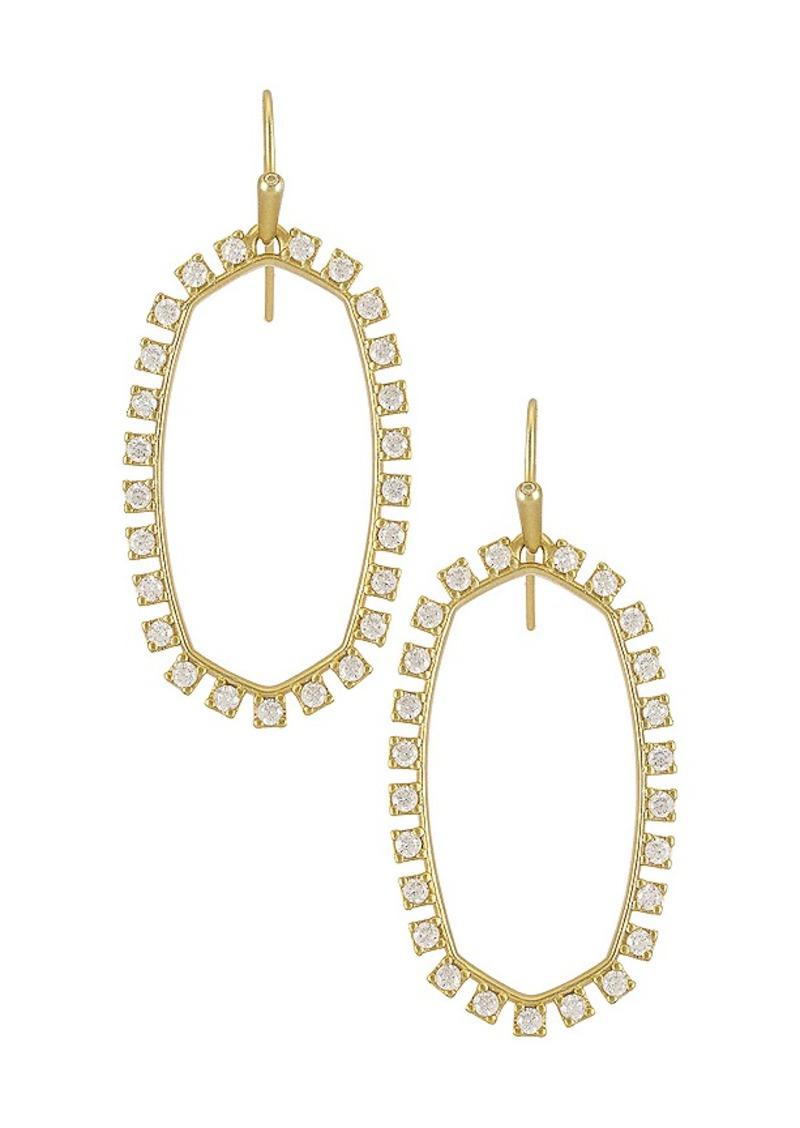 Kendra Scott Open Frame Earrings