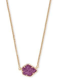 Kendra Scott Tess 14K Yellow Gold Plated Brass Pendant Necklace