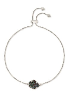 Kendra Scott Theo 14K White Gold Plated Brass Adjustable Chain Bracelet