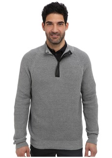 Kenneth Cole 1/2 Zip Mock with Coating