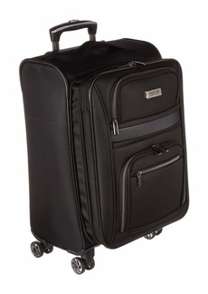 "Kenneth Cole 20"" Rugged Roamer Lightweight Softside Expandable 8-Wheel Carry-On Suitcase"