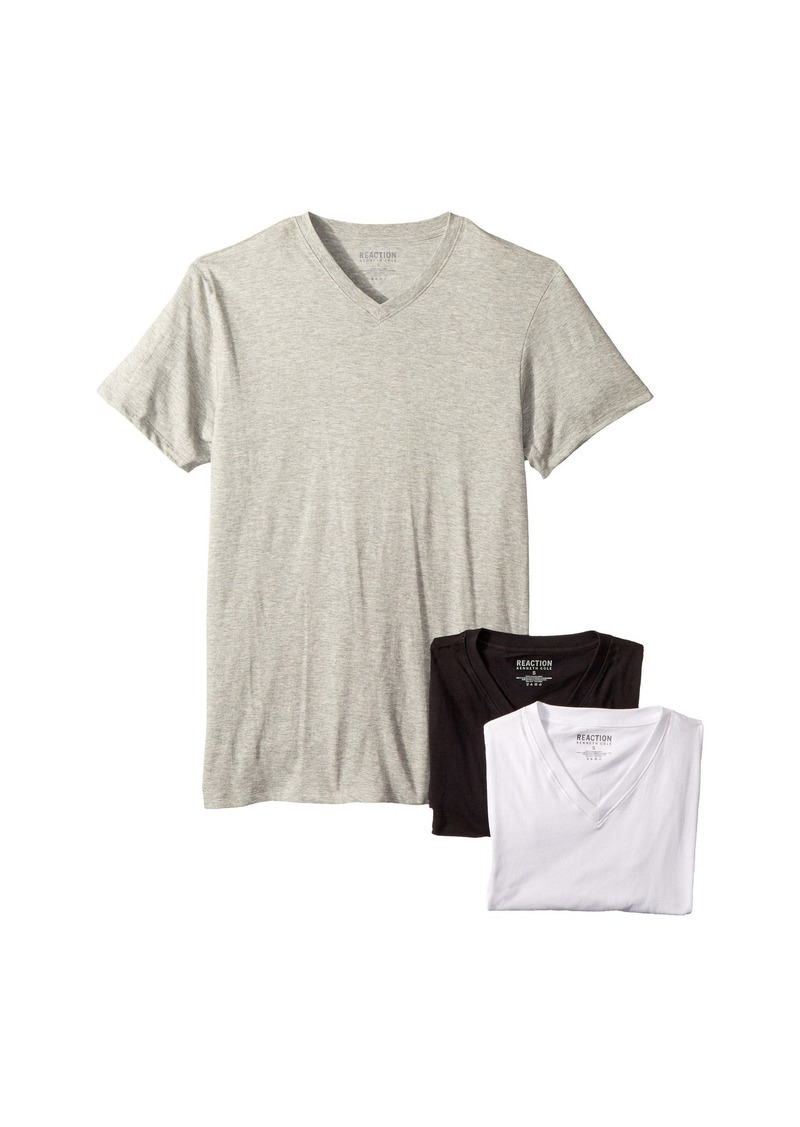 Kenneth Cole 3-Pack Classic Fit V-Neck Tee