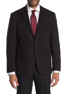 Kenneth Cole Black Textured Slim Fit Evening Jacket