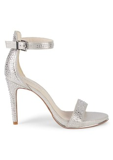 Kenneth Cole Brooke Embellished Metallic Sandals