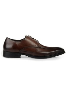 Kenneth Cole Burnished Leather Derby Shoes