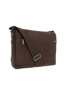 """Kenneth Cole """"Busi-Mess Essentials"""" - Single Gusset Flapover Messenger Bag"""