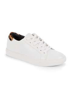 Kenneth Cole Calf Hair Trimmed Lace-Up Sneakers