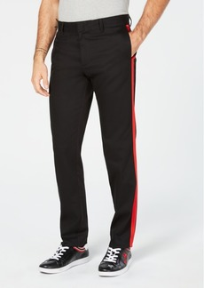 Kenneth Cole Calvin Klein Men's Exclusive Black & Red Stripe Pants