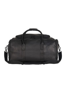 Kenneth Cole Colombian Leather Top Zip Duffel Bag