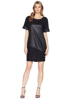 Kenneth Cole Color Blocked T-Shirt Dress