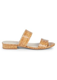 Kenneth Cole Cork Double Strap Sandals