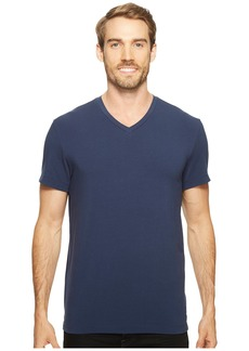 Kenneth Cole Cotton Spandex V-Neck Tee