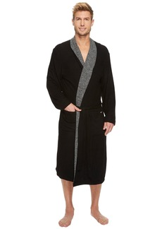 Kenneth Cole Cozy Sweater Robe with Reversible Stripe