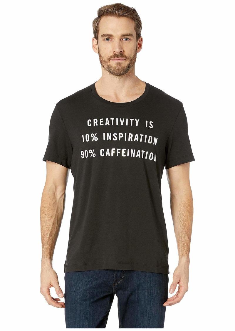 Kenneth Cole Creativity = Caffeination Graphic Tee