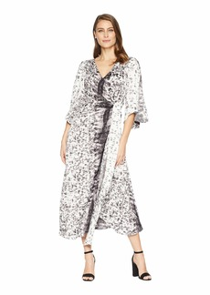 Kenneth Cole Drapy Maxi Dress