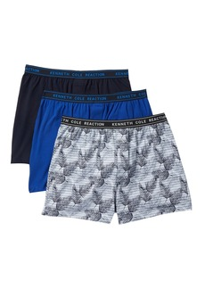 Kenneth Cole Fashion Knit Boxers - Pack of 3
