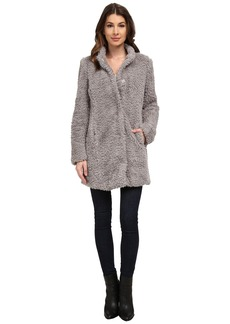 Kenneth Cole Faux Fur Teddy Coat