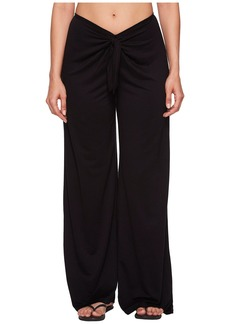 Kenneth Cole Frenchie Solids Tie Front Pant Cover-Up