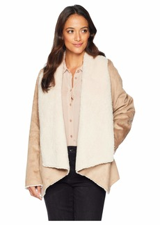 Kenneth Cole Fur Suede Jacket