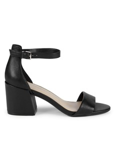 Kenneth Cole Hattie Leather Ankle-Strap Sandals